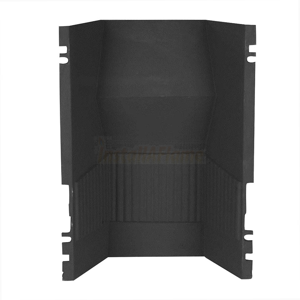 Fireback (Cast-Iron) for Arched Fireplace Insert