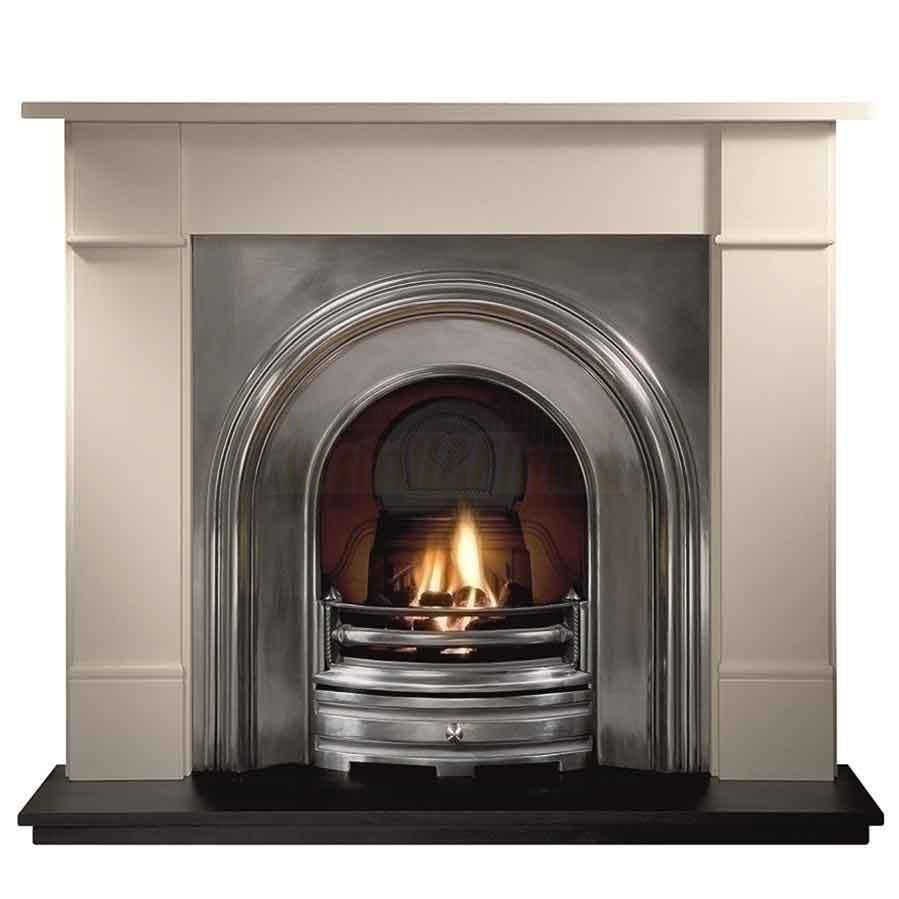 crown cast iron fireplace insert