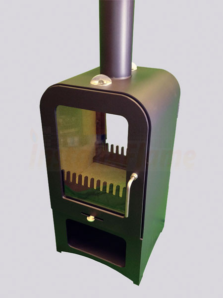 Vesta V8 Contemporary Wood Burning Stove