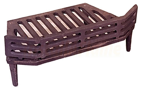 Fireback Cast Iron For Arched Fireplace Insert
