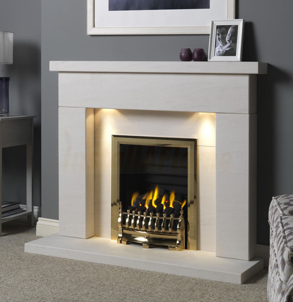 Durrington 48 Suite With Hotbox Gas Fire With Ceramic Coal