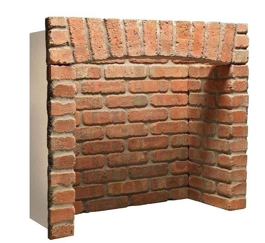Brick Chamber 4 Piece With Arch And Chamber