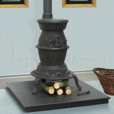 The Cedar Pot Belly Stove