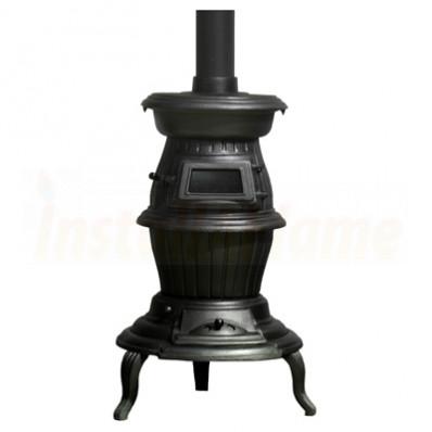 The Oak Pot Belly Stove