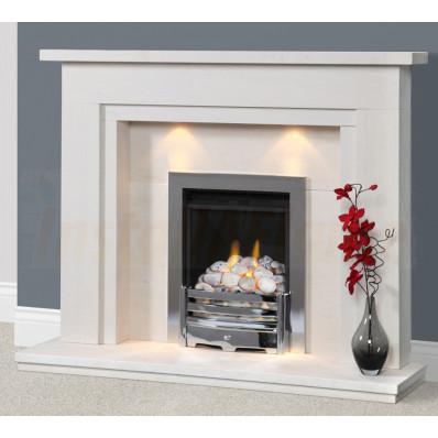 Aerveirra Portuguese Limestone Fireplace, fabulous design with concealed lighting in high quality limestone.jpg