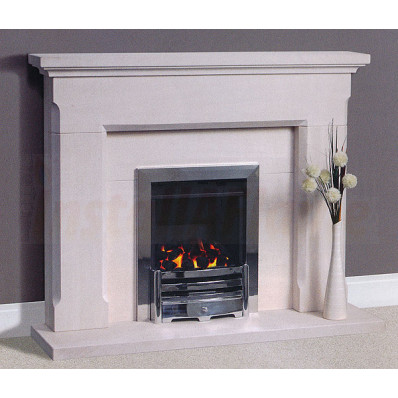 Belas Portuguese Limestone Fireplace, Simple design in superior quality portuguese limestone.jpg