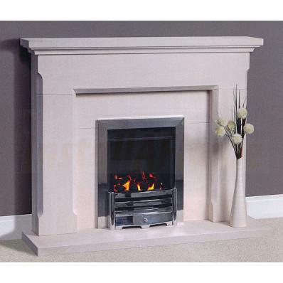 Belas Portuguese Limestone Fireplace, Simple design in superior quality portuguese limestone.jpg