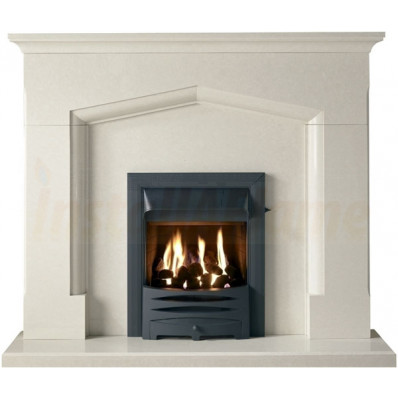 Coniston Fireplace, Perla Marble with Inset Gas Fire.jpg