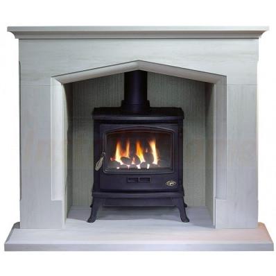 Coniston Portuguese Limestone, Tiger Gas Stove, Fireplace Suite..jpg