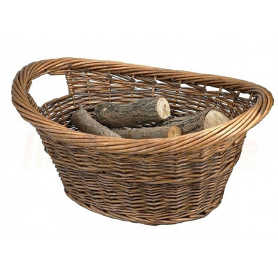 The Cradle Log Basket