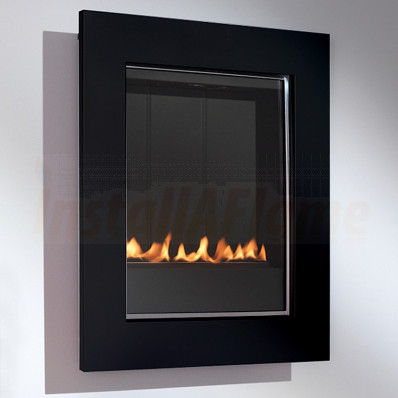 eko 5010 Flueless Gas Fire, Black Frame.jpg