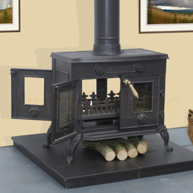The Elm Double Vision Stove
