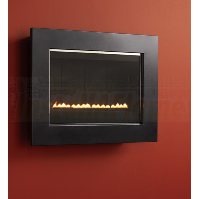 eko 5050 Flueless Gas Fire (Metallic Black Frame)