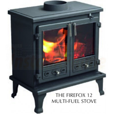 THE FIREFOX 12 MULTI-FUEL STOVE