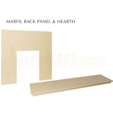 Marfil Back-panel & Marfil Hearth
