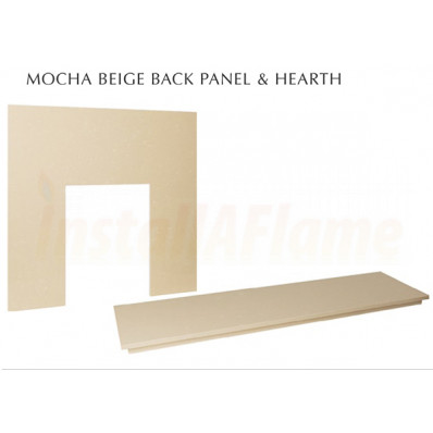 Mocha Beige Back & Hearth