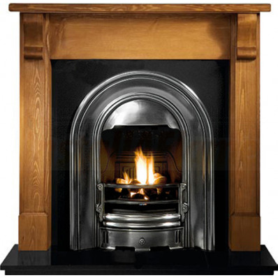 Bedford Pine Mantel with Sutton Fireplace suite.jpg