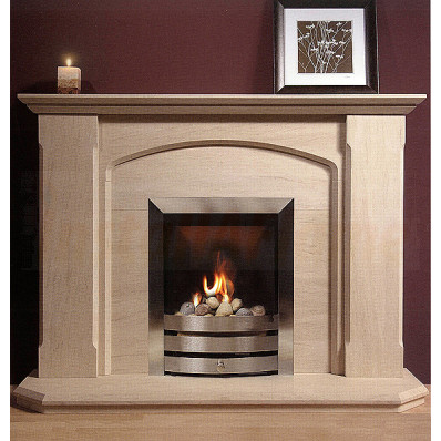 Cambridge Portuguese Limestone Suite, a remarkable elegant fireplace to compliment any room setting.jpg