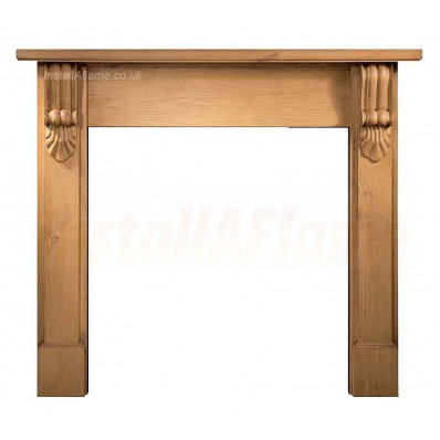 Grand Corbel Pine Fireplace Mantel.jpg