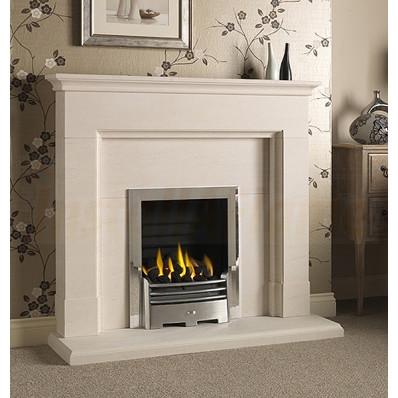 Langdon Portuguese Limestone Fireplace