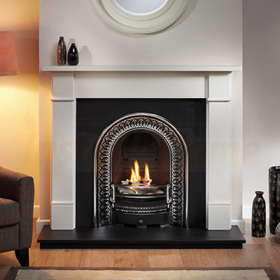 Brompton Agean Limestone Fireplace with Regal Arch.jpg