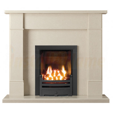 Rydal 48 Perla Marble Fireplace with Hotbox Gas Fire.jpg