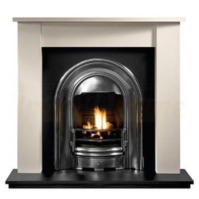 Henlow Agean Limestone Fireplace with Sutton Arch Insert.jpg
