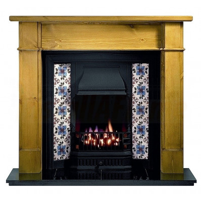 Worcester Pine Mantel with Sovereign Black Tiled Insert (Solid Fuel).jpg