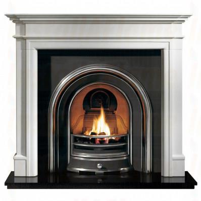 Bartello Agean Limestone Fireplace with Jubilee Arch insert.jpg