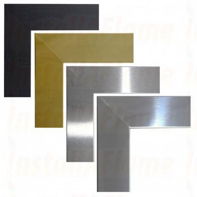 Flat Frames, Black,Brass,Brushed,Polished Flat Frames