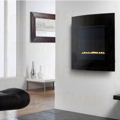 eko 5020 Flueless Gas Fire (Curved Screen)