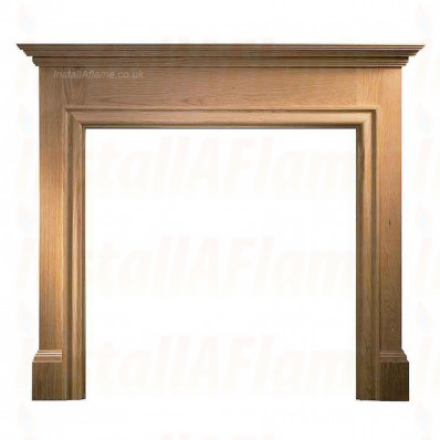 Solid Oak (Howard) Fireplace Mantel.jpg