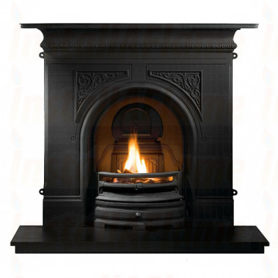 Pembroke 48 Fireplace in Black, Solid Fuel Fire.jpg