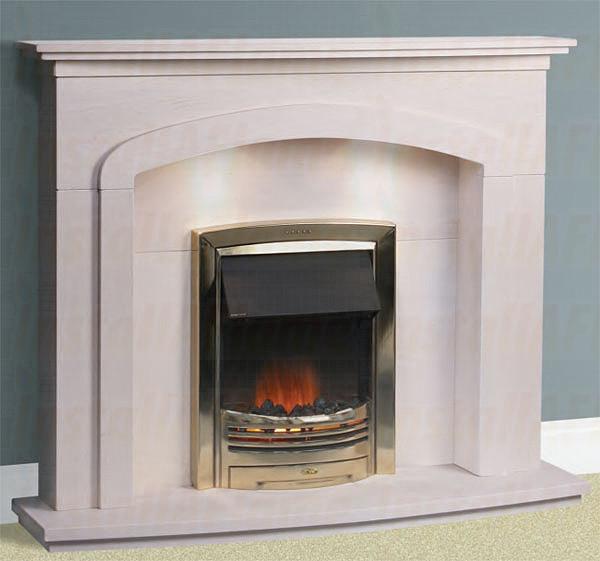 Allstone Rothbury Limestone Fireplace