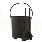 Coal Bucket & Companion Set 15""