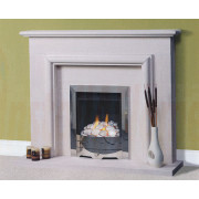 Caselas Portuguese Limestone Fireplace, elegant design in superior quality portuguese limestone.jpg