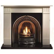Clarendon Limestone Mantel with Landsdowne Arch Fireplace.jpg