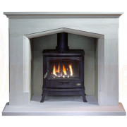 Coniston Portuguese Limestone, Tiger Gas Stove, Fireplace Suite..jpg