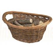 The Cradle Log Basket