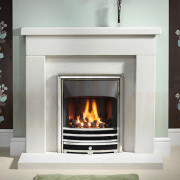 Durrington 42/48 Portuguese Limestone Fireplace with Gas Fire.jpg