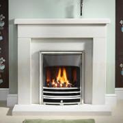 Durrington 42/48 Portuguese Limestone Fireplace with Gas Fire.jpg