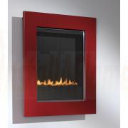 eko 5010 Flueless Gas Fire, Red Frame.jpg