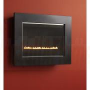 eko 5050 Flueless Gas Fire (Metallic Black Frame)