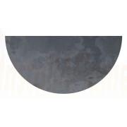 Half Circle - Brazilian Black Natural Slate