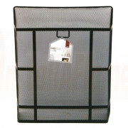 Large Heavy Duty Rectangular Guard Black
