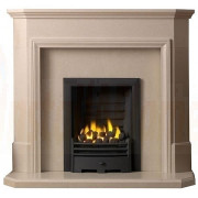 Thirlmere Perla Micro Marble Fireplace with Gas Fire.jpg