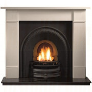 Brompton Agean Limestone Fireplace with Traditions Arch for Solid-Fuel.jpg