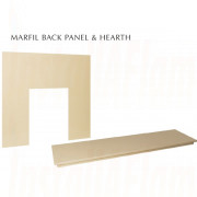 Marfil Back-panel & Marfil Hearth