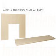 Mocha Beige Back & Hearth