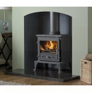 The Firefox 8 Cleanburn  Multifuel Stove